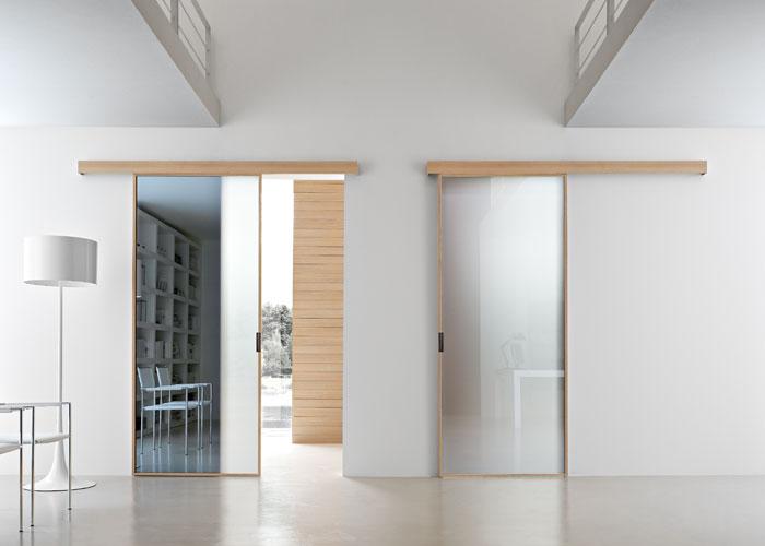 Porta interna mod stikla arredinfissi - Porte interne rovere grigio ...
